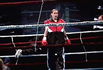 Marise entering the ring